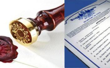 Zamówienia publiczne, legalizacja dokumentów